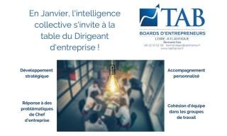 Le 21 janvier 2021, l'intelligence collective s'invite à la table des Dirigeants d'Entreprise de Loire Atlantique !