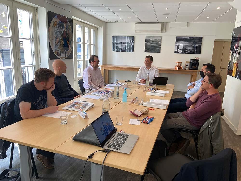Bertrand Gex ouvre TAB Boards d'Entrepreneurs en Loire Atlantique
